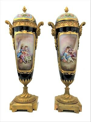 Antique French Sevres Pair of the 19th century