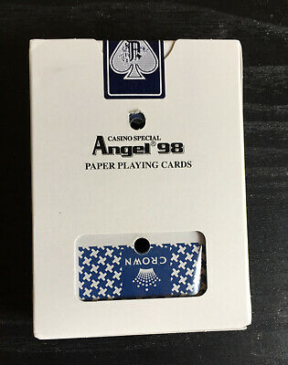 Crown Casino Special Angel 98 Poker, Blackjack Playing Cards
