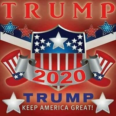 "Donald TRUMP   ""Trump 2020""  Keep America Great  FRIDGE Magnet 3"" x 3"""