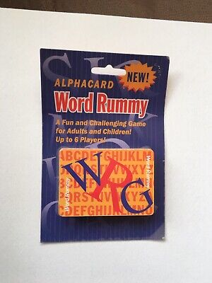 Card Game/WORD RUMMY/1994