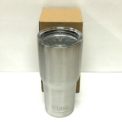 RTIC 30 oz. Vacuum Insulated Stainless Steel Tumbler with Splash Proof Lid