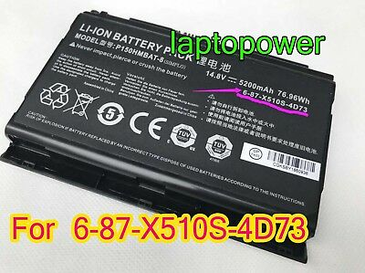 GENUINE P650BAT-4 BATTERY for Sager NP8678 NP8652 NP8651