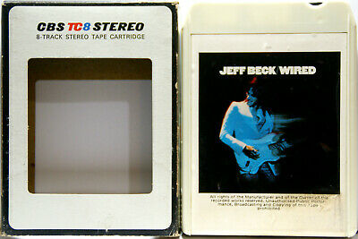JEFF BECK Wired  8 TRACK CARTRIDGE