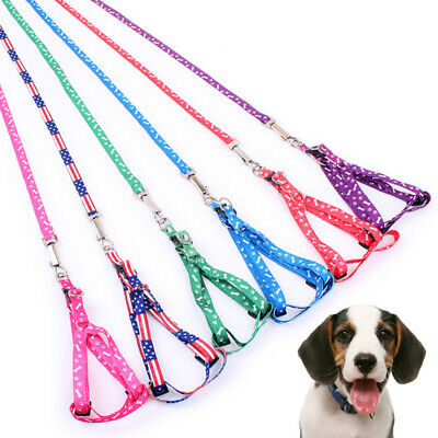 6 Colors Rope Traction Dog Pet Leash Animal Polyester Adjustable Accessory Lead