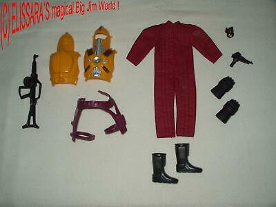 BIG JIM Outfit : Adventure Condor Force Vektor Commando Space Mission Pack 9297