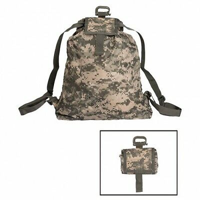 US Roll Up Rucksack Army pouch pack Tasche Acu Ucp AT Digital