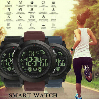 T1 Tact Military Grade Super Tough Smart Watch Waterproof Sports Talking Watch Clothing, Shoes & Accessories Tops, Shirts & T-shirts
