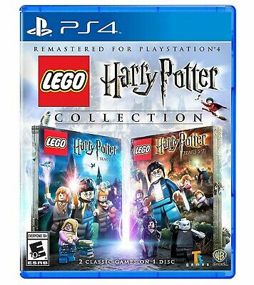 LEGO Harry Potter Collection Years 1-4 + 5-7 [Sony PlayStation PS4 WB Games] NEW