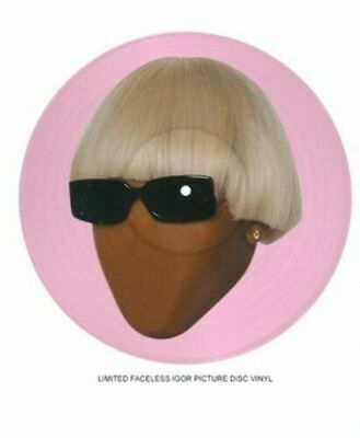 Faceless Igor Picture Disc Vinyl Tyler The Creator Golf Wang IGOR PREORDER