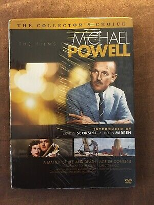 The Films Of Michael Powell - Age Of Consent / Stairway To Heaven (DVD, 2009)N