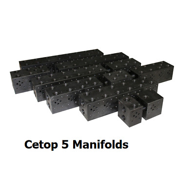 Cetop 5 Steel Manifold No RV Cavity