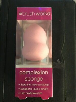Brush Works Complexion Sponge Make-Up Sponge - Brand New