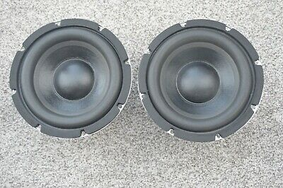 "8"" 8 ohm pair of round, full range Pro-Plus speakers"