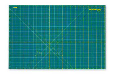 Olfa RM-IC-M | Self-Healing 2-Sided Cutting Mat Imperial/Metric Grid | 90 x 60