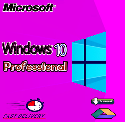 Windows 10 Professional Pro Key 32/64 Bit Activation Code License Key [Genuine]