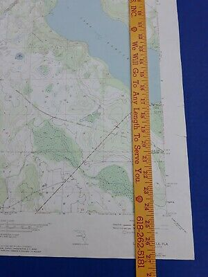 Lake Arbuckle Florida 1973 Original Vtg Geological Survey Topo Quadrangle Map