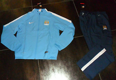 10537 Manchester City XXL Presentation Tracksuit Official Tracksuit Canadian