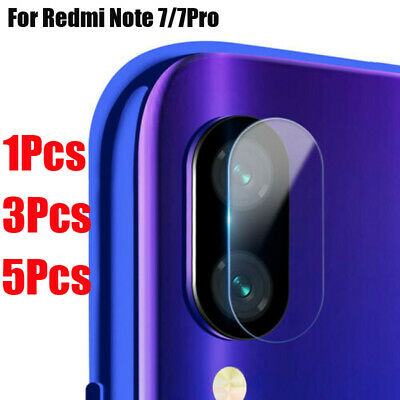 For Xiaomi Redmi Note 7/7Pro Back Lens Tempered Glass Film Camera Protector Ty