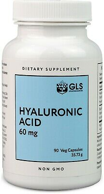 GLS Pharmaceuticals Hyaluronic Acid Supplements, 60mg