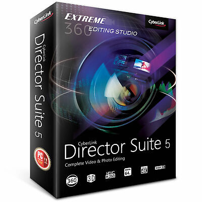 Cyberlink Director Suite 5 Power Video/Photo/Audio Editing Windows - Download
