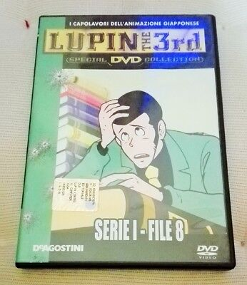 LUPIN THE 3rd Serie I File 8 Ottimo DVD Serie 1 File 8