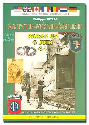 Sainte Mere Eglise and the Aerial Invasion of This Town on D-Day PB France W2B