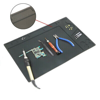 Heat Insulation Silicone Pad Soldering Iron Welding Mat for workbenches Rework