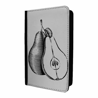 Passport Holder Case Cover Pears Sketch Fruit - S1236