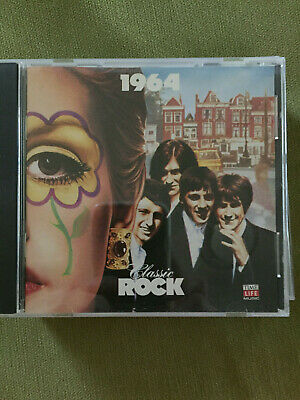 1964 Classic Rock CD, Misc Artists, 24 tracks, see photo of play list