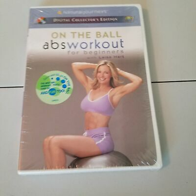 NEW - On the Ball Abs Workout for Beginners With Leisa Hart