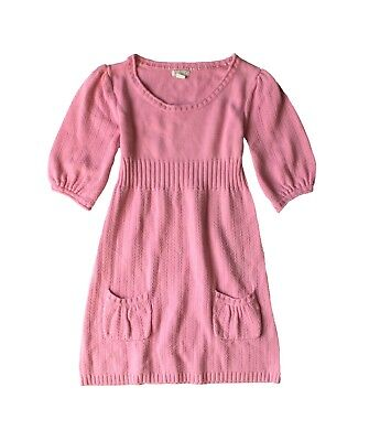 97ae5025c9b Old Navy Kids Girl's Sweater Dress Knit Pullover Top Tunic 3/4 Sleeves Sz Xl