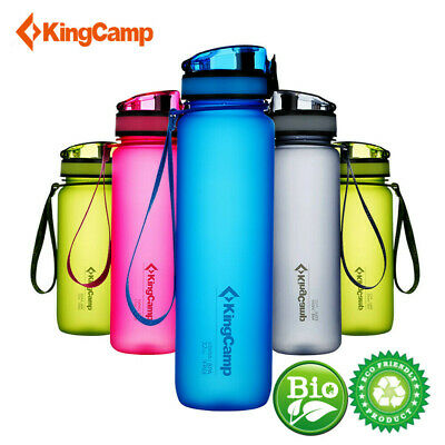 KingCamp 1000 ml TRITAN Wide Mouth Leak Proof BPA-FREE Snap Cap Water Bottle