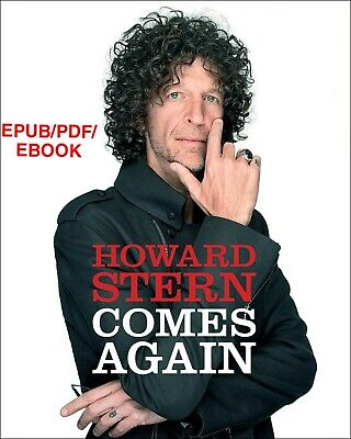 Howard Stern Comes Again by Howard Stern 🔥Same day delivery!!🔥