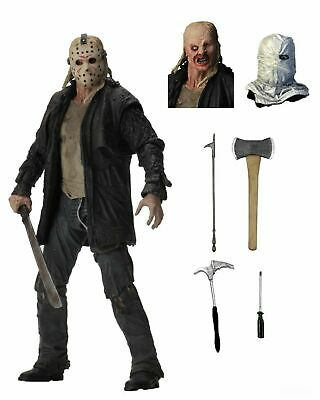 "Friday the 13th - 7"" Scale Action Figure - Ultimate Jason (2009 Remake) - NECA"