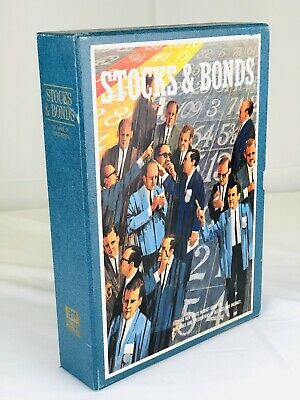 Vintage 1964 Stocks & Bonds Game Bookshelf Games 3M
