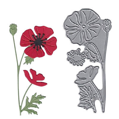 Flower Metal Cutting Dies Scrapbooking Paper Cards Embossing Craft Stencil NEW