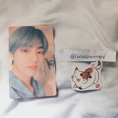 BTS Map of the Soul: Persona Version 2  V/Taehyung Official Photocard