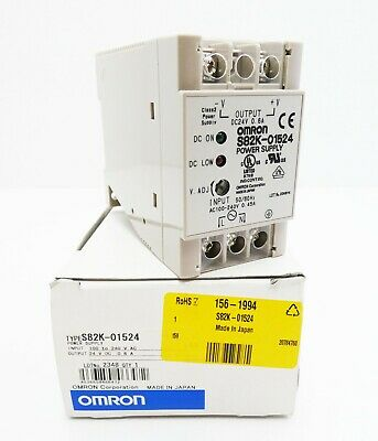USED OMRON POWER SUPPLY S82K-01524 S82K01524