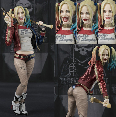 """6"""" Suicide Squad Harley Quinn PVC Action Figure Collection Model Gift New In Box"""