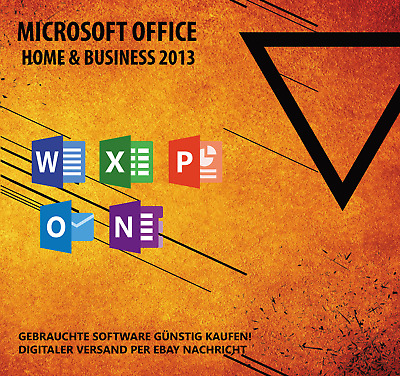 Microsoft Office 2013 Home & Business / MS Office Home and Business Vollversion