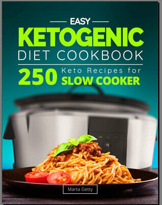 Easy Ketogenic Diet Cookbook – 250 Keto Recipes for Eb00k/PDF - FAST Delivery
