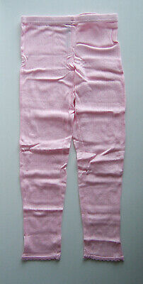 Girls Thermal Leggings Pink Age 6-7 years BNNT Cotton Blend Layers Camping