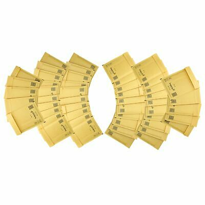 50 Pack Padded Mail Bags Envelopes Gold Mail Lite 150mm x 210mm C/0