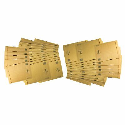 50 Pack Padded Mail Bags Envelopes Gold Mail Lite 240mm x 320mm A4 G/4