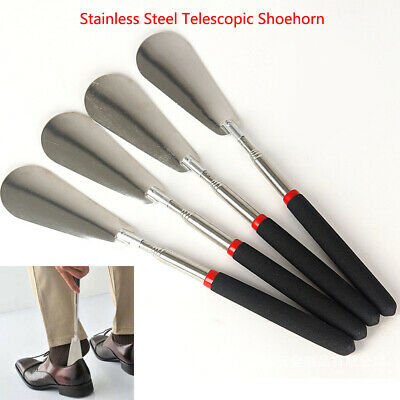 Travel Portable Telescopic Extendable Shoe Horn Handled Shoe Accessory US