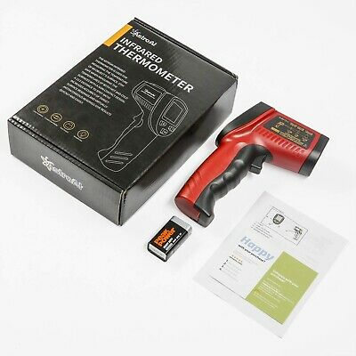 AstroAI Digital Laser Infrared Thermometer, 550 Non-contact Temperature Gun Red
