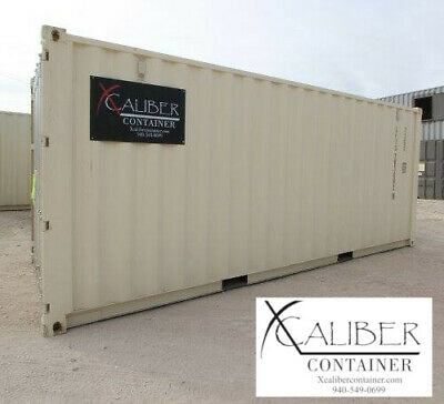 20' STD New Shipping Container Cargo Container Conex Box Bowie, TX Sunset, TX