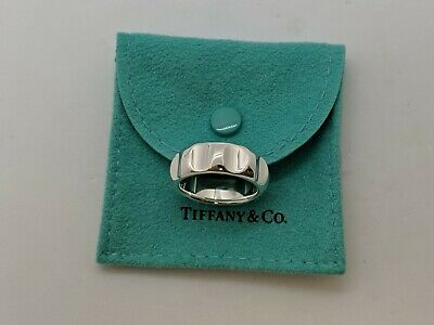 d2586295a Tiffany & Co. Paloma Picasso Silver Silver True Love Groove Ring - Size 10.5