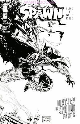 SPAWN #297 COVER C MATTINA SKETCH VARIANT McFARLANE ROAD TO 300 NEW 1 2019 IMAGE