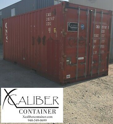 20' STD Used Shipping Container Cargo Container Conex Box Lubbock, TX